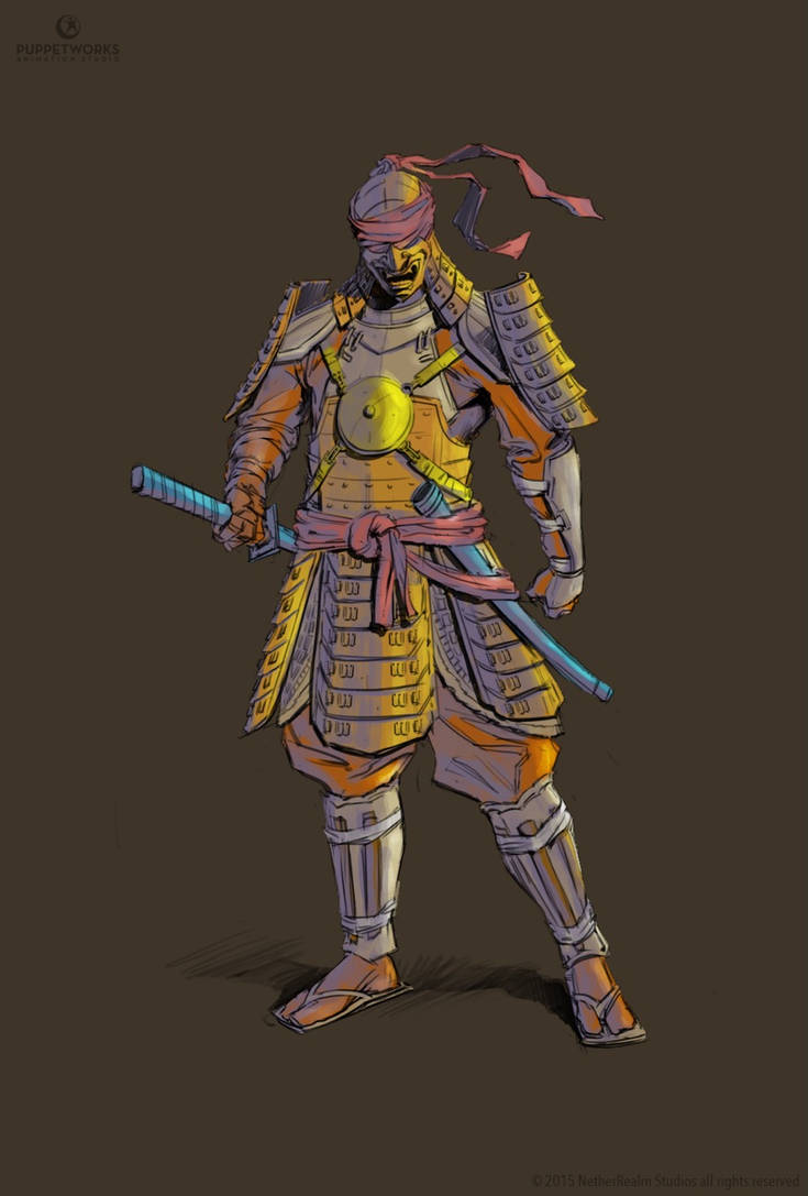 Cp75 Ronin Kenshi By Puppetworks Coloured By Noitcartsbalatot On
