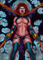 CP_130 - Goblin Queen by David Lima Coloured by noitcartsbalatot