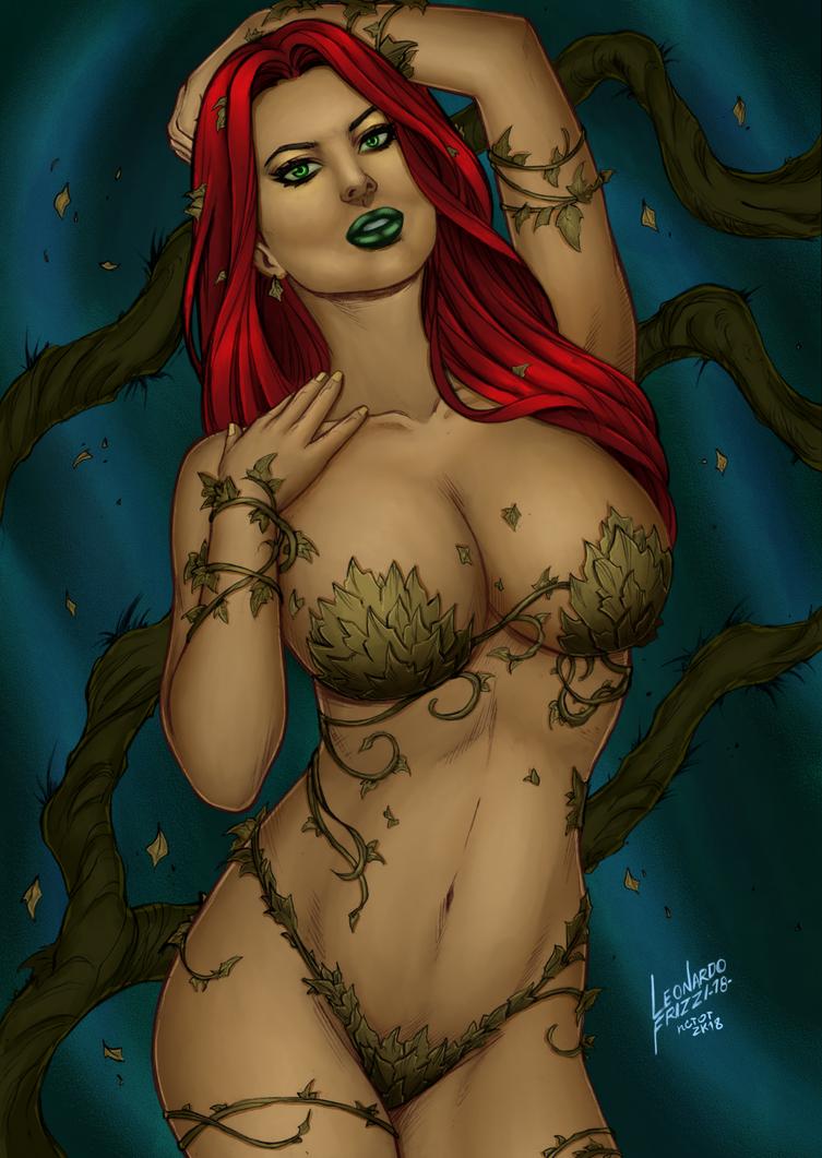 CP_131 - Poison Ivy by Leonardo Frizzi Coloured by noitcartsbalatot