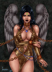 CP_143 - Dawnstar by Leandro Coloured by noitcartsbalatot