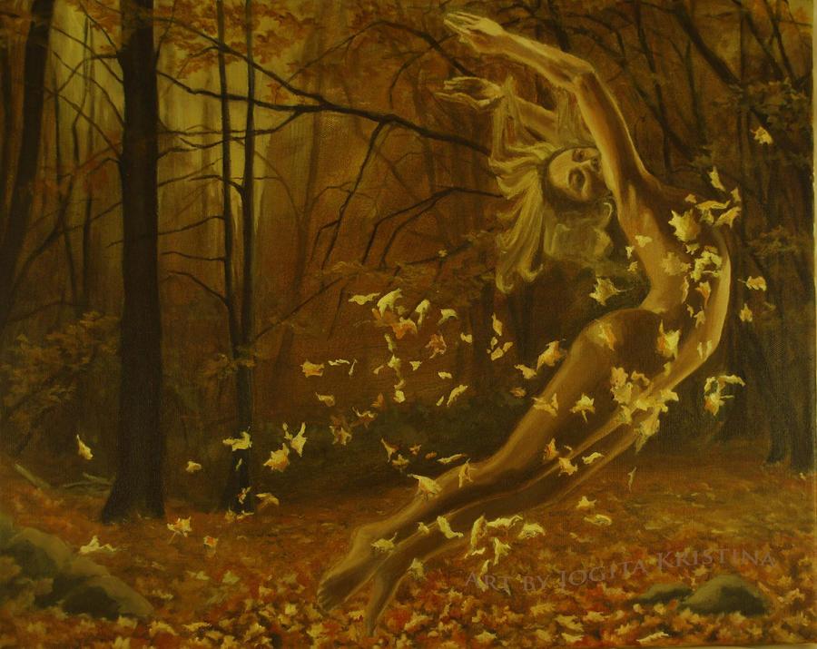 Autumn dance by jogijs
