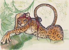 Bathtime - Jaguar by shiverz