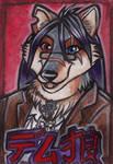 Demetrius Wolf J-Badge