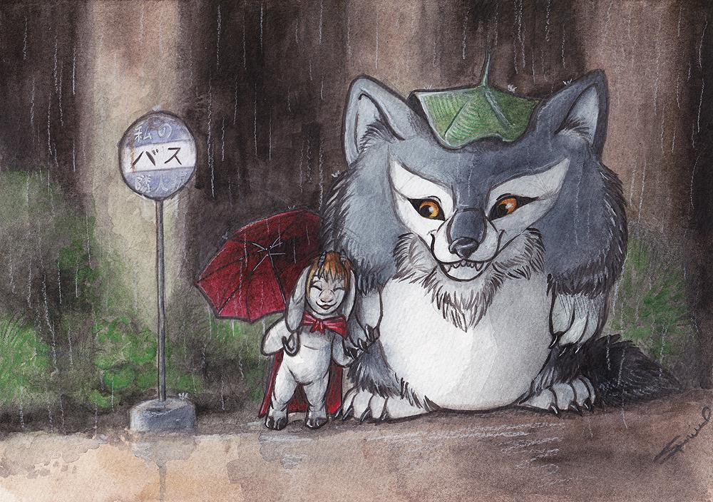My Neighbor the Werewolf by shiverz