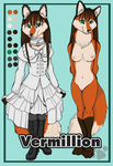 Vermillion Ref Sheet by shiverz