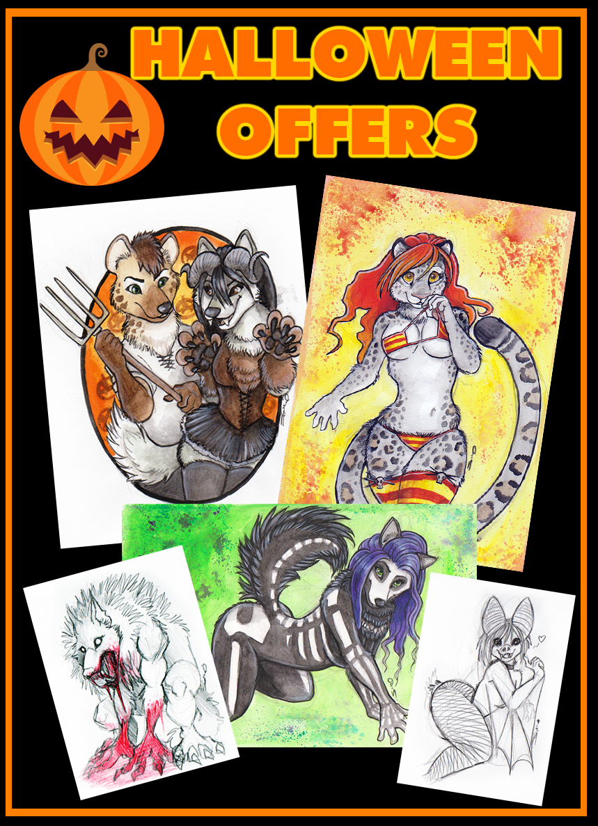 HALLOWEEN OFFERS 2018 by shiverz