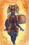 Halloween Autumn Vixen