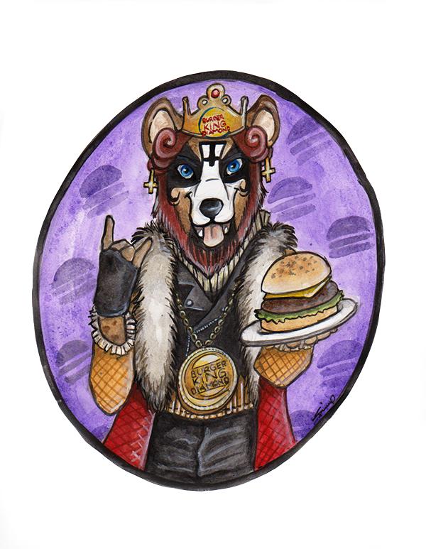 Burger-King Diamond by shiverz