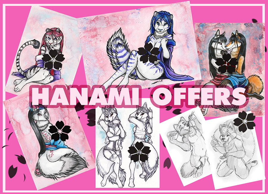 HANAMI OFFERS 2019 by shiverz