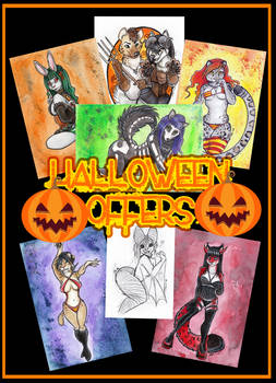 HALLOWEEN COMMISSIONS OPEN