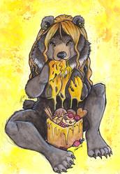 Honey Toast Bear