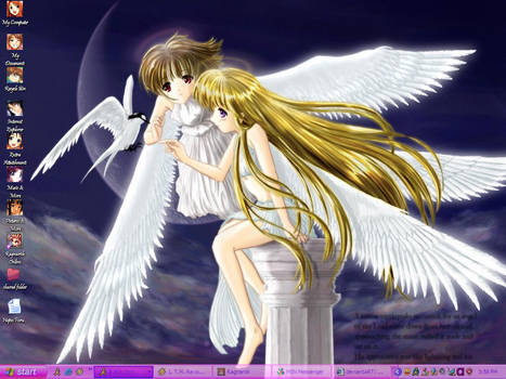 My Desktop by Angel-Hope-Sama