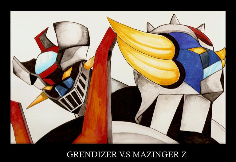 goldorak vs mazinger