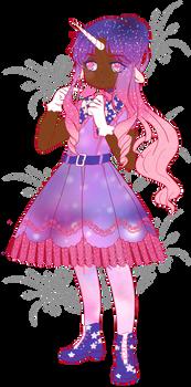 [OPEN] Pink/Purple Unicorn Adoptable {SET PRICE}