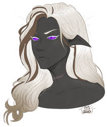 Zevachya - Drow Aberrant Mind Sorcerer for DnD