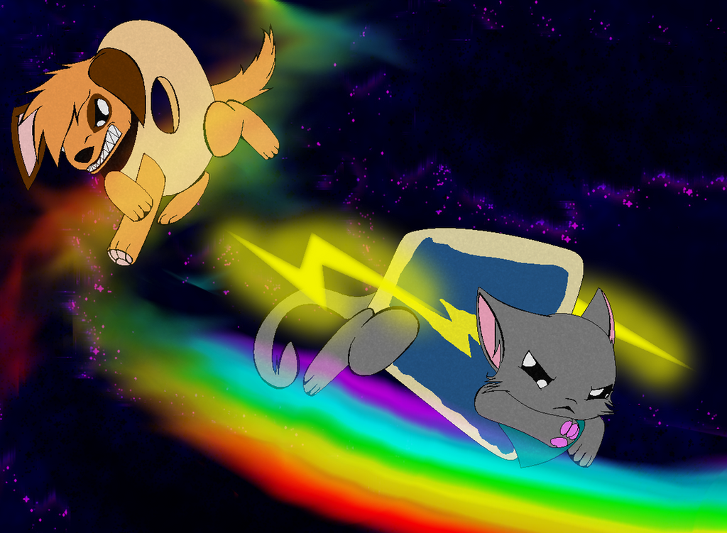 Doge Vs Nyan Cat