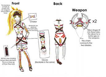 Rikku Dressphere Contest Entry by SakuraHaru
