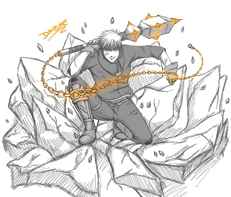 Daizuke Shiomi in ACTION by SorceressDream
