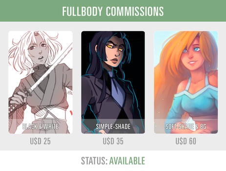 FULLBODY COMMISSIONS [AVAILABLE]