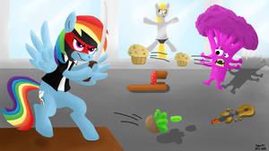 Ninja Rainbow Dash
