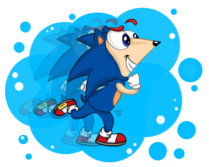 Phineas in Sonic costume by Oggynka on DeviantArt