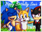 Let's take a photo! | Sonic 24th anniversary