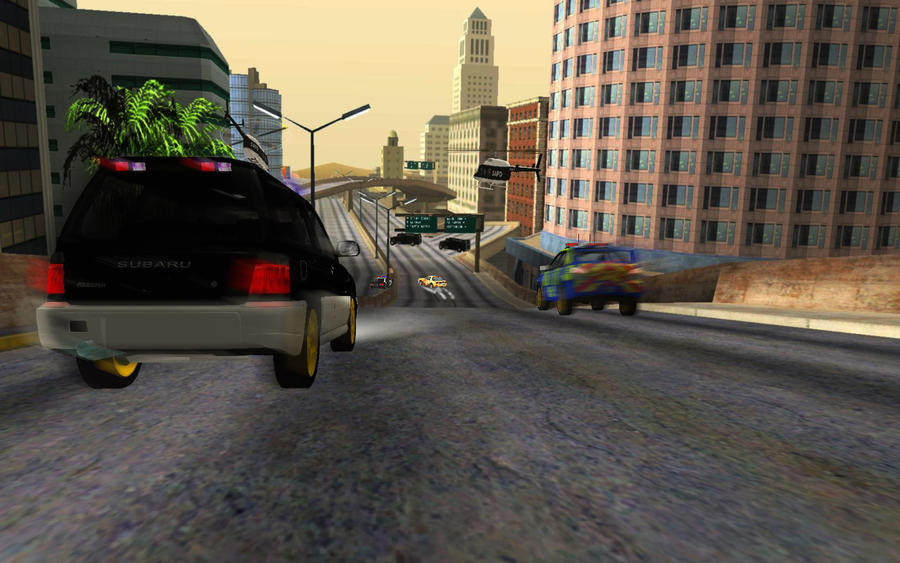 GTA-San-Andreas-Road-view