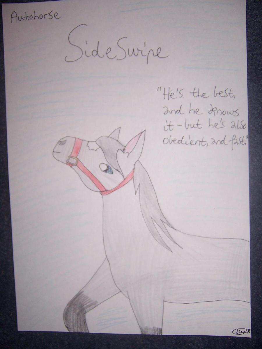 Auohorse Sideswipe II by Dark-Anmut
