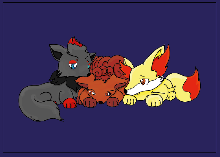 Vulpix And Zoru...