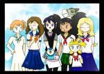 Pokemon Girls School Days