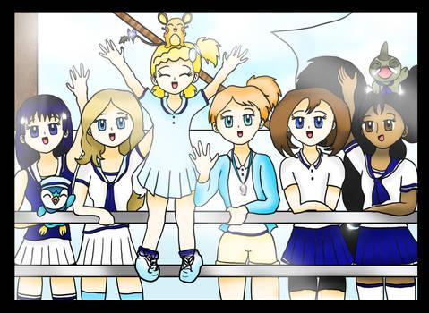 Pokemon Girls 'Everyday Kachuusha'