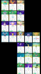 My Three Stage Pokemon In Go (Updated)