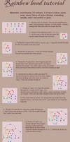 Rainbow bead tutorial