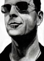 Bruce Willis by Apfeistrudel