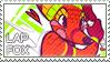 Lapfox Stamp (The Quick Brown Fox)