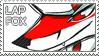 Lapfox Stamp by VaguelyWonderful
