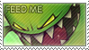 Feed Me Stamp by VaguelyWonderful