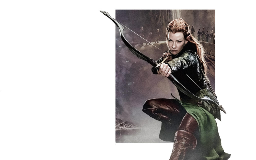 Tauriel Wood Elf The Hobbit By Forevernotsinking99 On