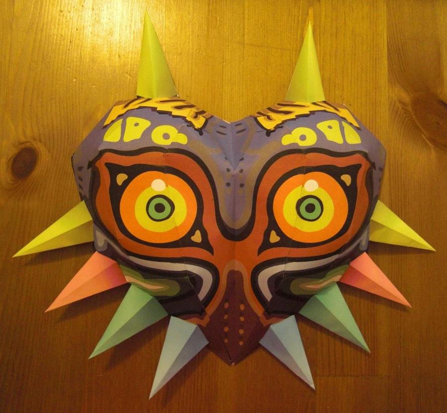 life size majoras mask papercraft #2 by minidelirium