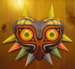 life size majoras mask papercraft #2
