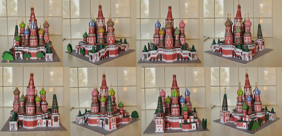 S:t Basil's cathedral by minidelirium