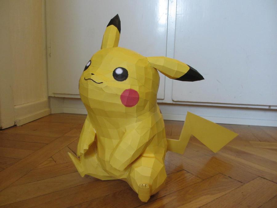 pikachu by minidelirium