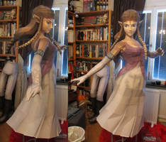 life size zelda assembly new skirt by minidelirium