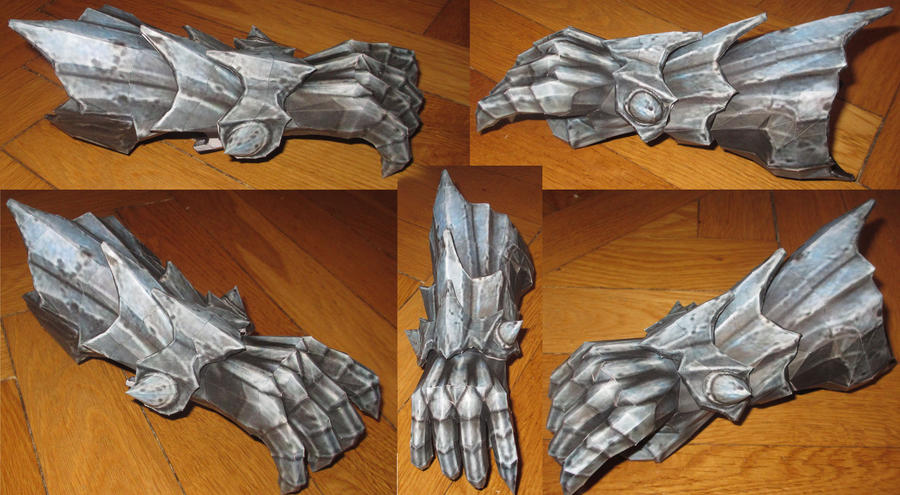 assembly: war from darksiders's right hand and arm by minidelirium