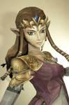 Zelda life size papercraft 3