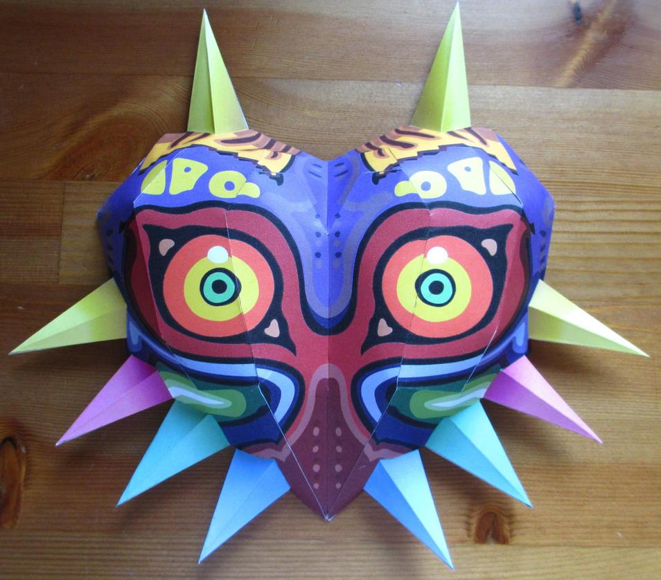 life size Majoras Mask papercraft #4 by minidelirium