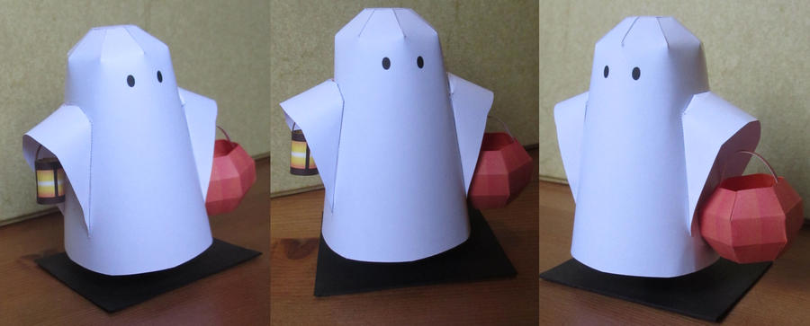 halloween papercraft by minidelirium