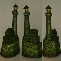 Haunted Lighthouse papercraft