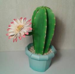 Columnar Cactus papercraft