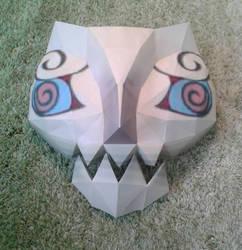 Mask of Jalhalla papercraft